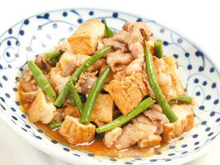 今夜のおかずはコレで決まり!!豚肉と厚揚げのオススメレシピ!のサムネイル画像