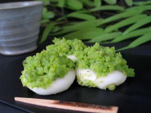 鮮やかなグリーンが人気♥ずんだ餅とずんだ餅レパートリーレシピのサムネイル画像