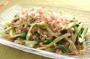 こんな使い方あったんだ!チンゲン菜を使ったサラダレシピ4選のサムネイル画像