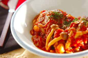 みんな大好きハンバーグ!トマト煮込みハンバーグの人気レシピ特集!のサムネイル画像