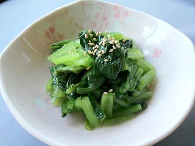 お弁当や常備菜にも便利♪小松菜の美味しいおひたしレシピ5選のサムネイル画像