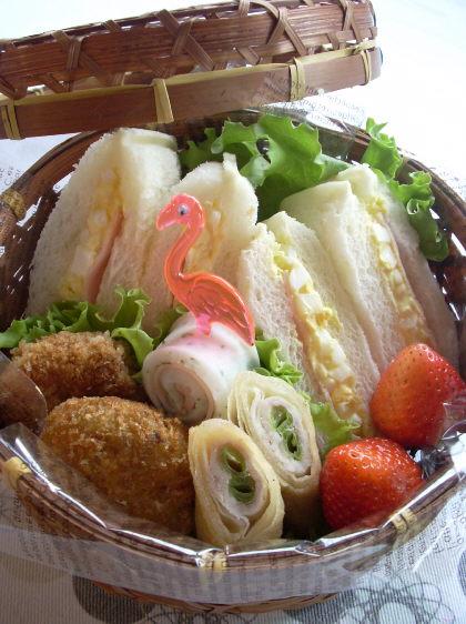 【お弁当】パンのお弁当☆パンに合うお弁当のおかずレシピ【パン】のサムネイル画像