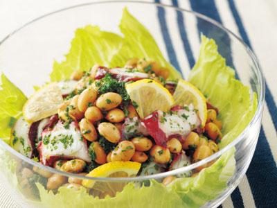 健康的で美味しい!大豆を使った栄養満点で美味しいサラダレシピ5選のサムネイル画像