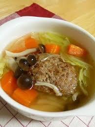 簡単、おいしい、栄養満点!スープハンバーグの絶品レシピ5選!!のサムネイル画像
