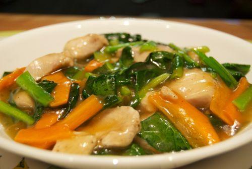 ヘルシーで栄養満点!鶏肉と小松菜が生み出す絶品レシピをご紹介のサムネイル画像