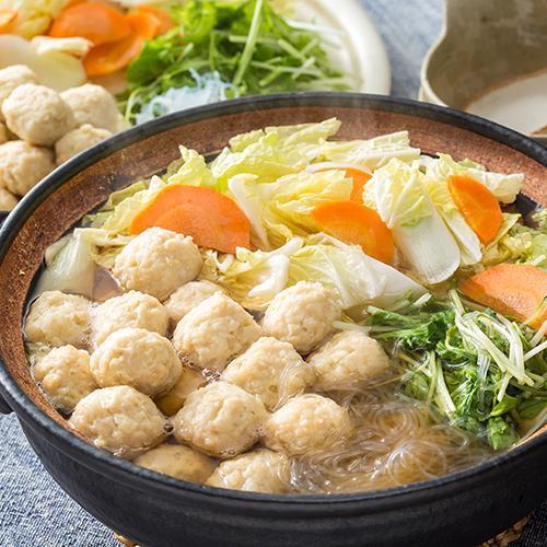 いろんな出汁が出て鍋に入れるととってもおいしい鶏団子の作り方!のサムネイル画像