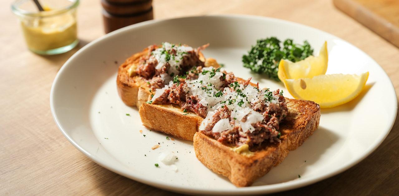 最近コンビーフサンドイッチが来てる!?ダイナーみたいなレシピのサムネイル画像