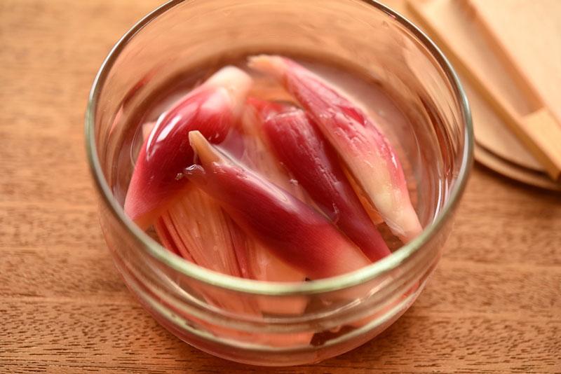 さっぱりしていて夏バテ解消にも♪みょうがを使った酢漬けレシピ!のサムネイル画像