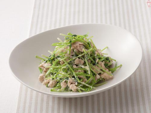 妊婦さんにもおすすめ!栄養ばっちり豆苗を使ったレシピ特集のサムネイル画像