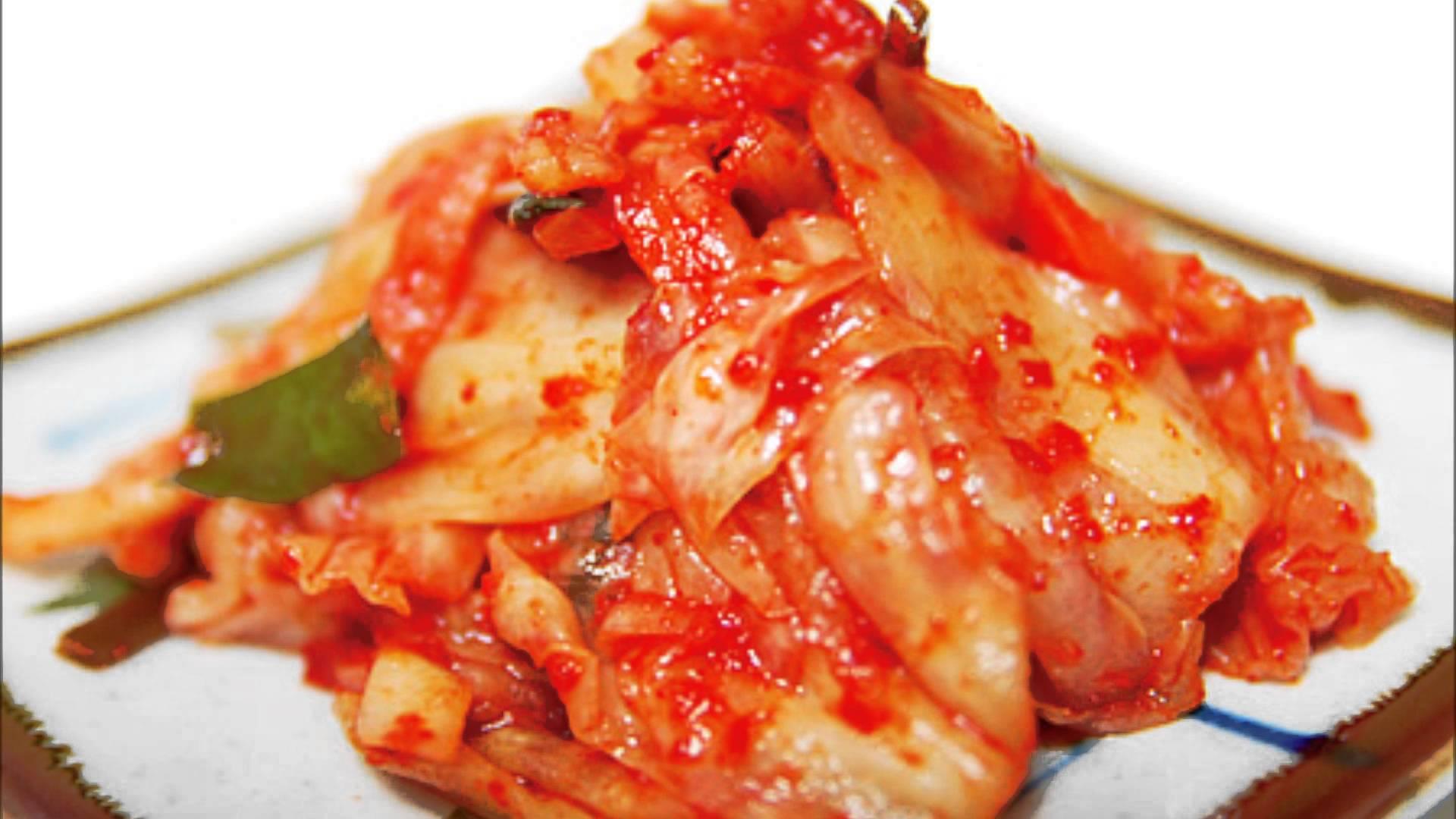 栄養満点キムチの栄養効果とキムチdeワンディッシュ☆満腹レシピ♪のサムネイル画像