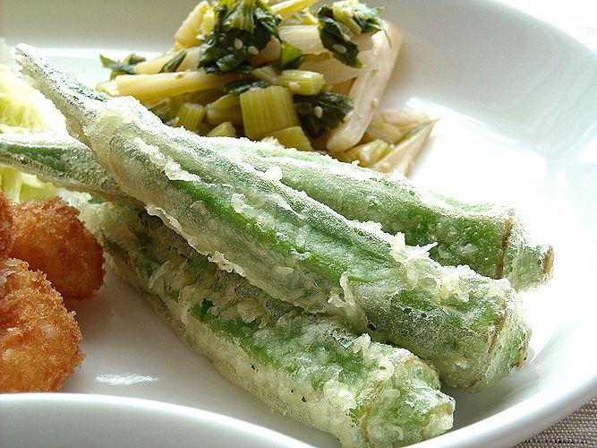 人気オクラの天ぷらのレパートリーを増やしちゃお!!おすすめレシピのサムネイル画像