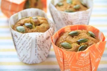 何度も食べたくなる!かぼちゃのマフィンのレシピをご紹介します。のサムネイル画像