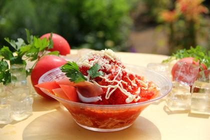 美味しい☆簡単に作れる☆おしゃれなトマトの冷製パスタレシピのサムネイル画像