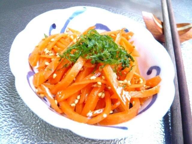 お弁当や常備菜に♡にんじんを使ったアイデアナムルレシピ5選のサムネイル画像