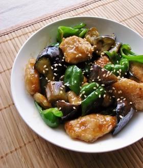 スタミナをつけたい方必見、茄子とピーマンを使ったレシピご紹介のサムネイル画像