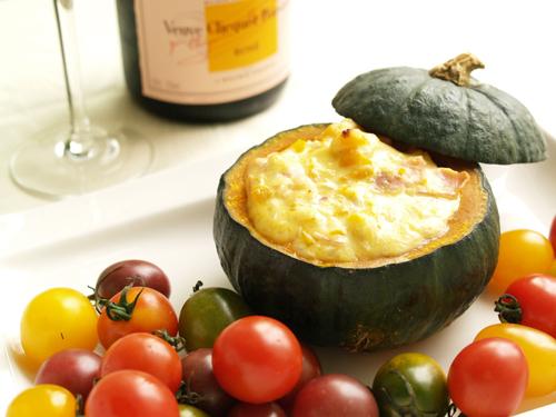ほっくりかぼちゃととろ~りチーズ♪カボチャのグラタンレシピ集のサムネイル画像