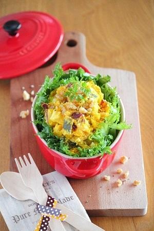 濃厚なお味がおいしい♪かぼちゃとチーズを使った簡単レシピ4選のサムネイル画像