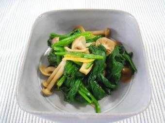 栄養満点でおいしい!ほうれん草としめじの人気レシピをご紹介しますのサムネイル画像