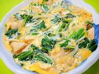 ほうれん草の卵とじ料理を作ってみよう!簡単に作れるレシピ!のサムネイル画像