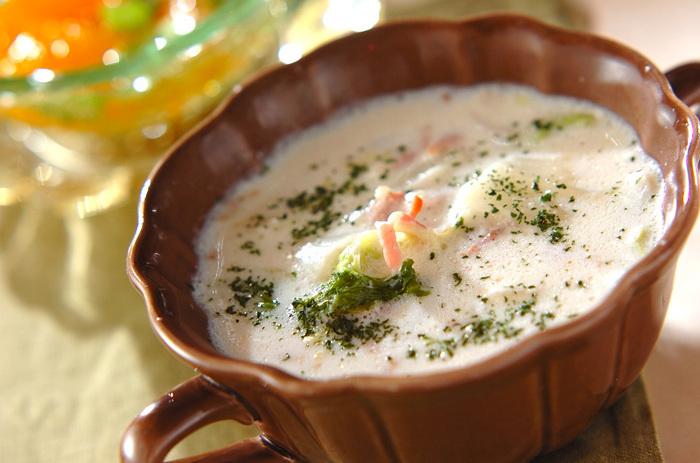 【大人気!】ほっこり美味しい!白菜のクリーム煮レシピ4選のサムネイル画像