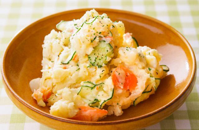 美味しさの決め手は酢!ひと工夫で簡単美味しいポテトサラダレシピのサムネイル画像