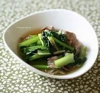 牛肉と小松菜を使って美味しくて簡単な料理を作ってみませんか?のサムネイル画像