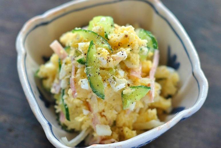 シャキシャキ食感でアクセント!玉ねぎ入りポテトサラダレシピ5選のサムネイル画像
