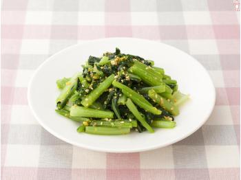 あと一品で悩んだら!小松菜を使った人気レシピはいかがでしょうか。のサムネイル画像