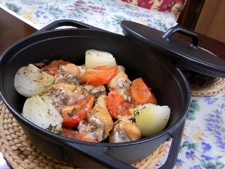カレーからローストビーフまで!ダッチオーブンに入れるだけレシピ☆のサムネイル画像