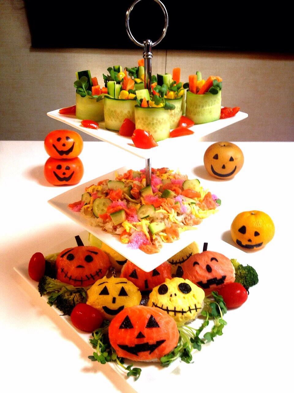 ハロウィンにも大活躍!丸くて可愛い手まり寿司レシピを紹介します!のサムネイル画像