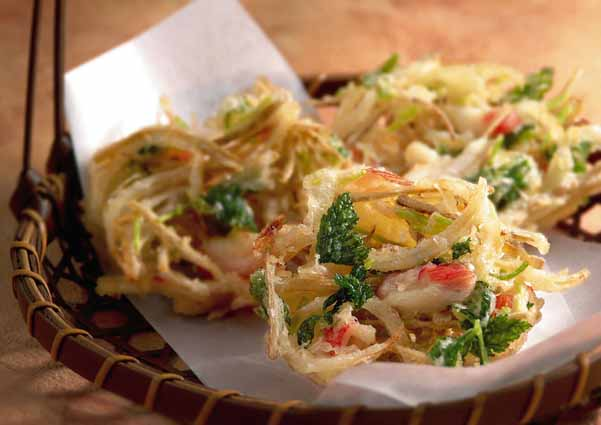 冷蔵庫にある野菜で作れる!サクサク美味しいかき揚げレシピまとめのサムネイル画像