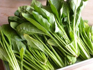 【ほうれん草の茹で方】基本を押さえて簡単レシピでたくさん食べようのサムネイル画像