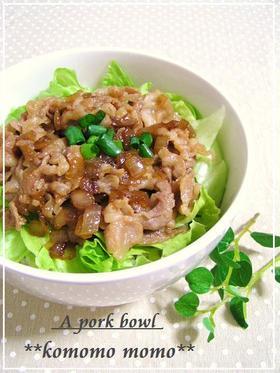 美味しすぎてご飯が止まらない!豚肉&玉ねぎ絶品レシピ8選☆のサムネイル画像