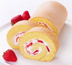 ロールケーキに専用型は不要!簡単に好きな形で作っちゃおう♡のサムネイル画像