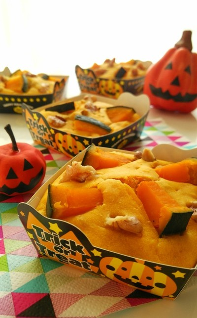 お菓子によく合う緑黄色野菜かぼちゃを使ったお菓子レシピ5選のサムネイル画像