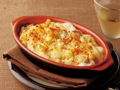 サラダやグラタンで大活躍!美味しいマカロニを使った簡単レシピ集のサムネイル画像