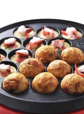 たこ焼き器のレシピはたこ焼きだけでは勿体ない!活用させよう!のサムネイル画像