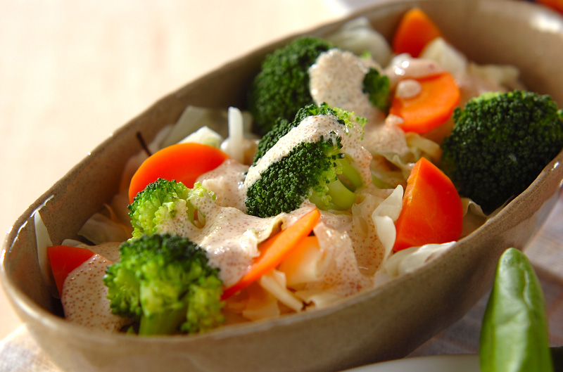 ヘルシー♡スタイル維持に効果的☆ボリューミーな温野菜レシピ特集のサムネイル画像
